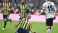 Olaylı Maçta Kazanan Kanarya Oldu | Beşiktaş 0-1 Fenerbahçe
