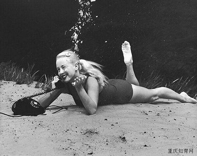 10. Bruce Mozert'in fotoğrafçılık kariyeri de bir anda yükselişe geçti.