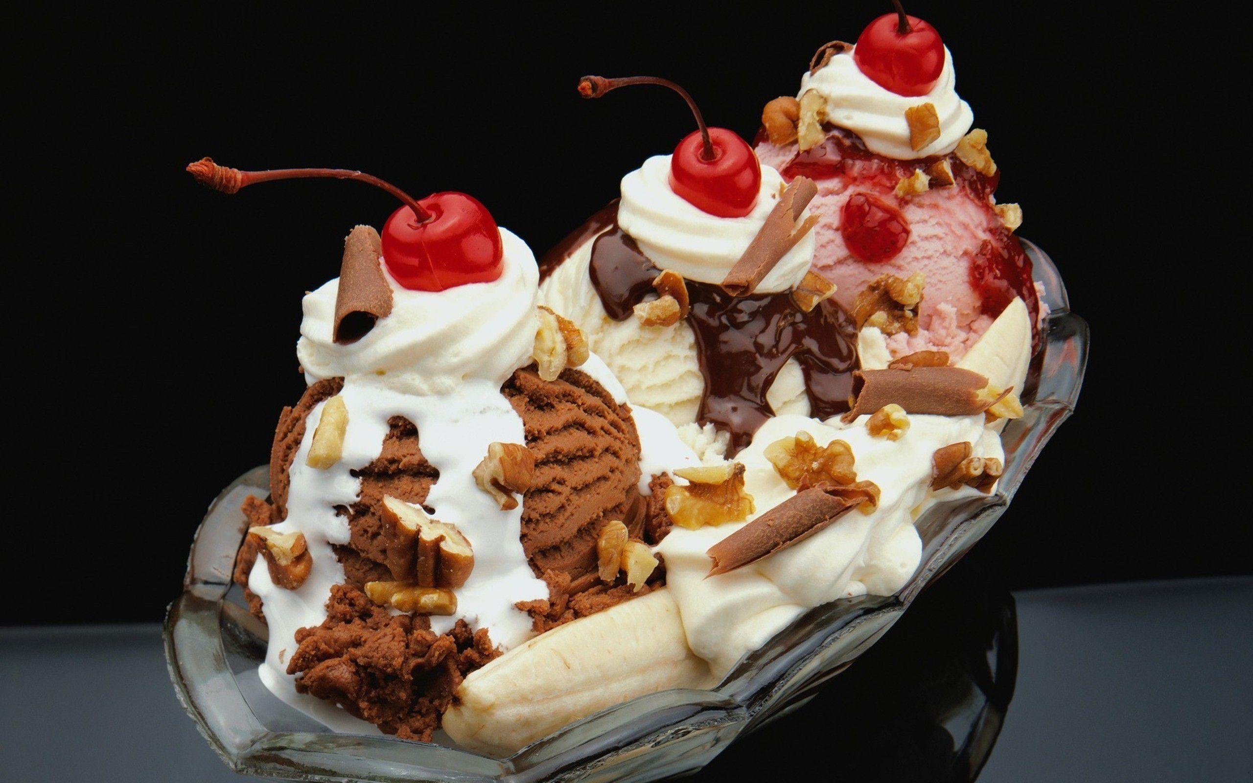 мороженое банановое клубника  № 2145334 бесплатно
