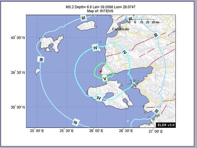 Ardından 13.58'de bir deprem daha meydana geldi.
