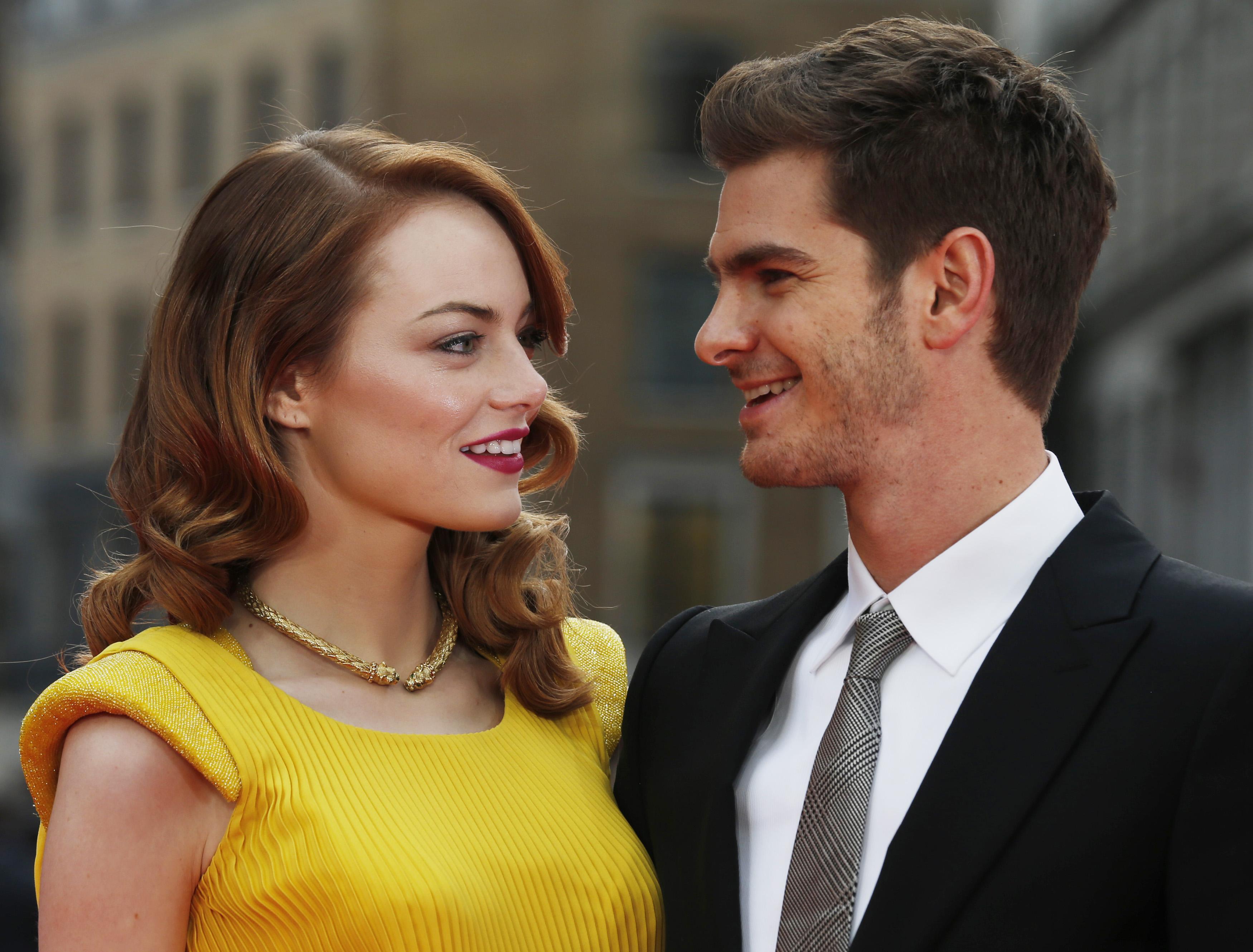 эндрю гарфилд и эмма стоун свадьба фото самого пруда