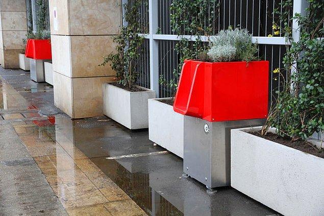 Bu tuhaf ama akılcı fikir, bir mimarlık fakültesi ziyaretinde tasarımcı Laurent Lebot'nun aklına düşmüş.