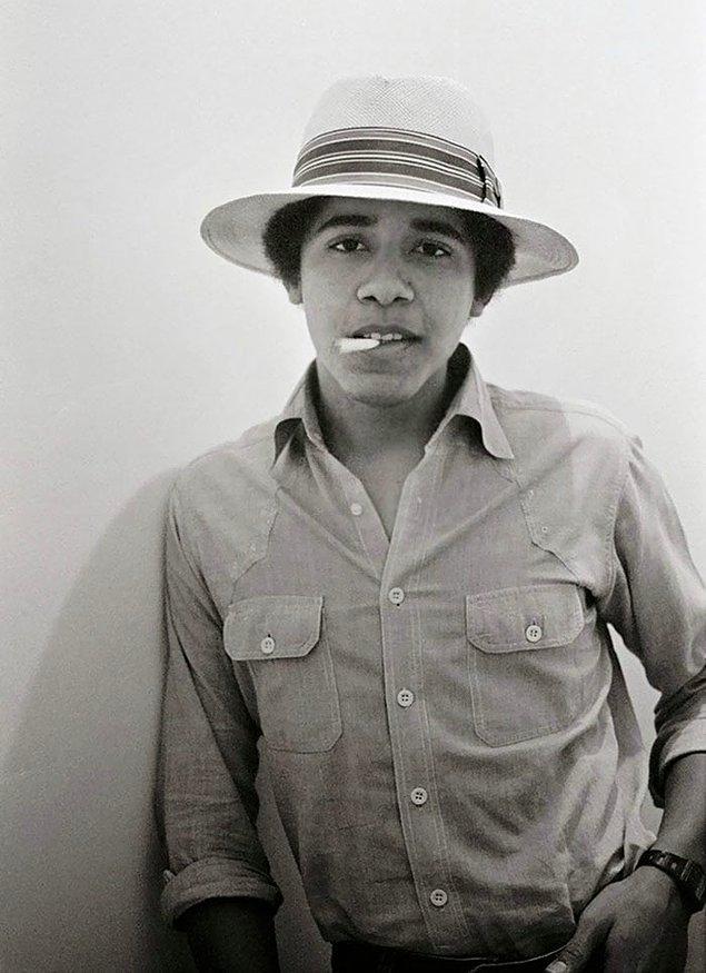 1. Barack Obama - Yaş: 18
