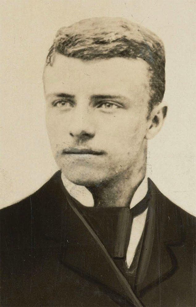 2. Theodore Roosevelt - Yaş: 20