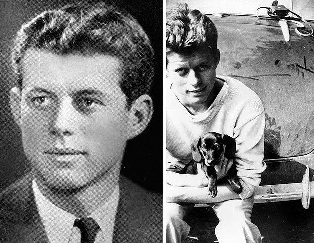 3. John F. Kennedy - Yaş: 21 ve 20
