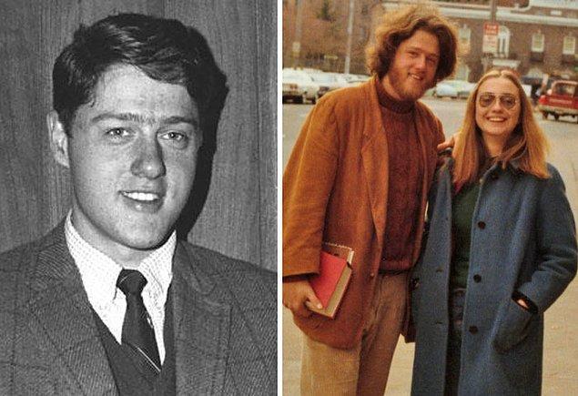 7. Bill Clinton - Yaş: 22 ve 26