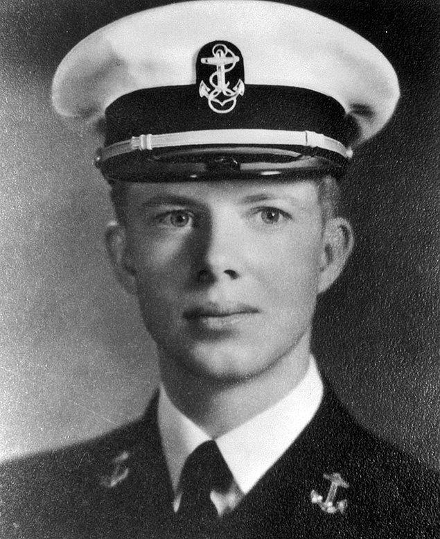 9. Jimmy Carter - Yaş: 18