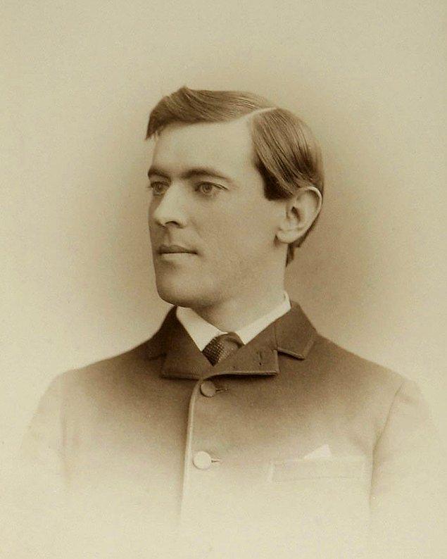 16. Woodrow Willson - Yaş: 19