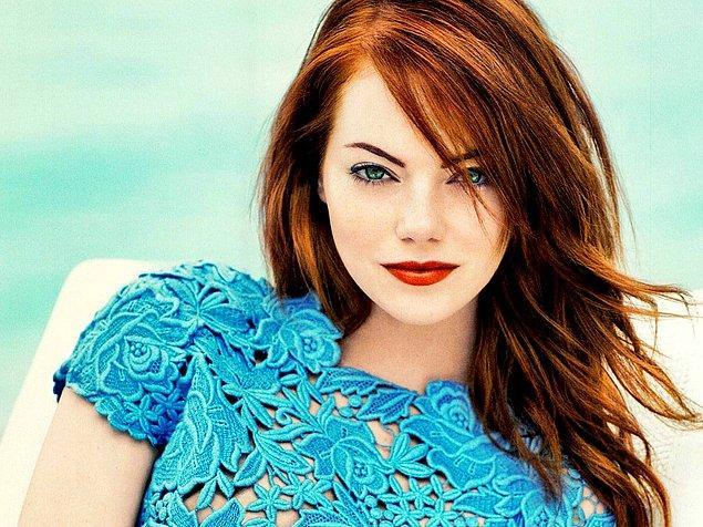 Senin saçlarının doğal rengi kızıl!