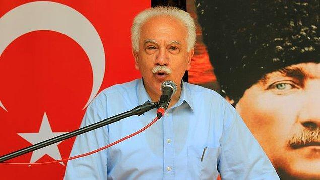 """Perinçek: """"Erdoğan'ı da tercih etseler, Doğu Perinçek'i tercih etmiş olurlar"""""""