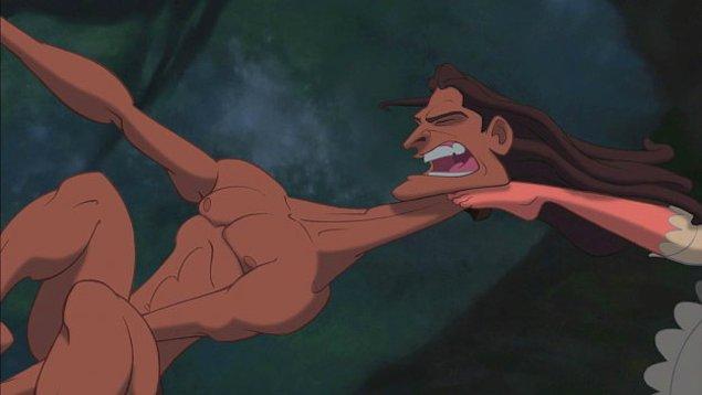 3. Tarzan'ın boynu zürafa boynu olduğunda.
