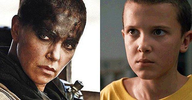 Eleven karakterini canlandıran Millie Bobby Brown, ilk sezonun çekimleri sırasında 11 yaşındaydı ve yaşına göre oldukça cesur bir karar aldı!