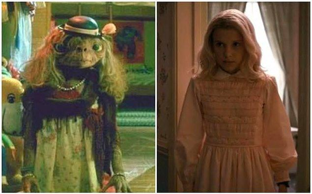 Stranger Things'in anahtar referansıyla başlayalım; E.T: Extra Terrestrial