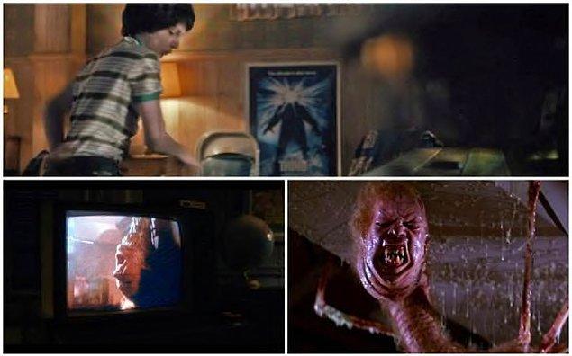 Dizide, John Carpenter'ın bolca kan ve şiddet içeren 1982 yapımı The Thing'den tutun da...