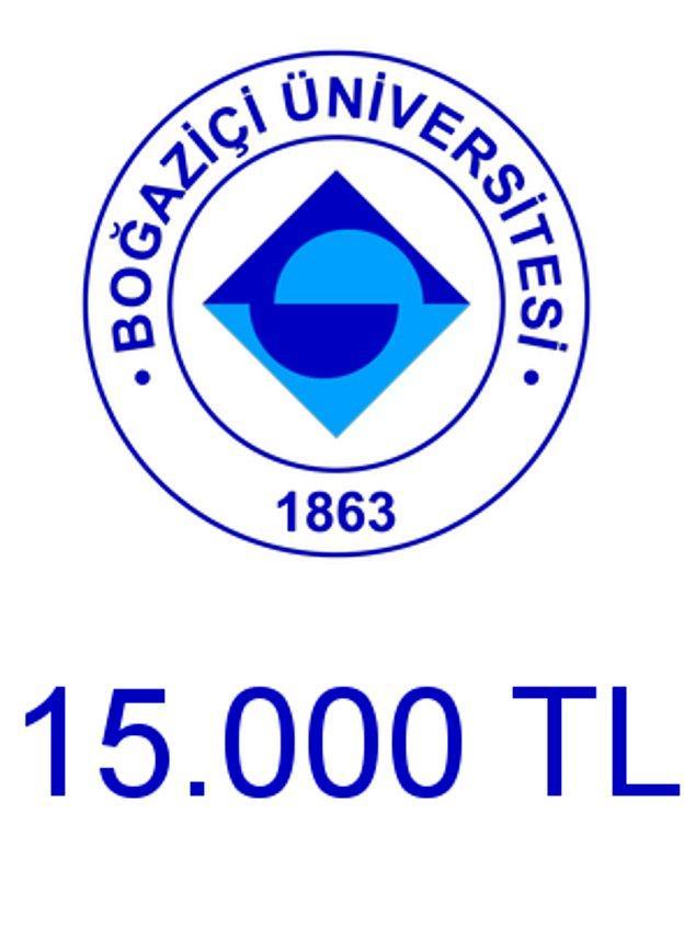 Boğaziçi - 15.000 TL!