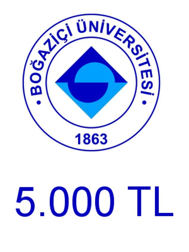 Boğaziçi - 5.000 TL!