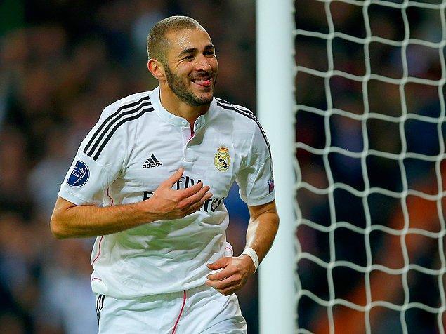 4. Karim Benzema (Lyon, Real Madrid & Fransa)