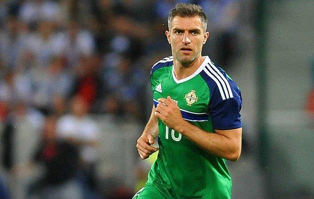 9. Aaron Hughes (Newcastle, Aston Villa, Fulham, Queens Park Rangers, Brighton, Melbourne City, Kerala Blasters, Hearts & Kuzey İrlanda)