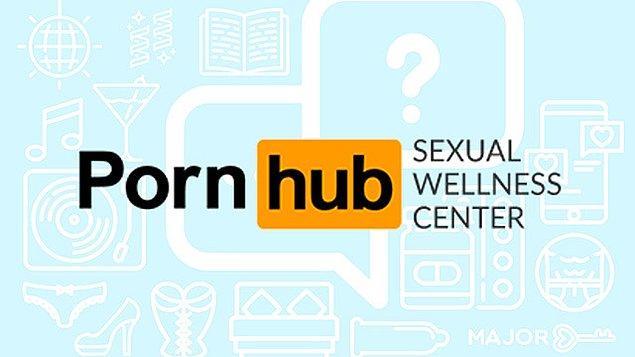 """""""Pornhub Cinsel Sağlık Merkezi"""" ismini verdikleri hizmet, ziyaretçilerine cinsel sağlık açısından bilgilendirici içerikler sunacak."""