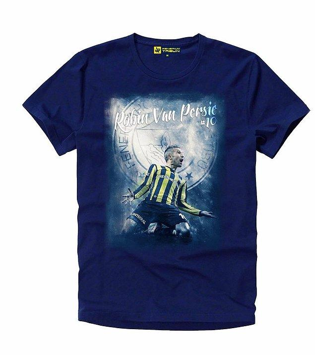 1. Olaylı Beşiktaş derbisinde Van Persie'nin gol sevinci tişört oldu.