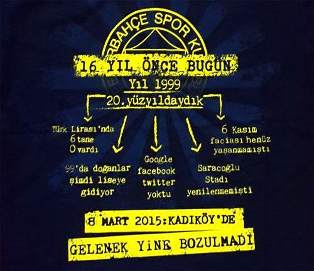 4. Galatasaray'ın Kadıköy fobisine gönderme