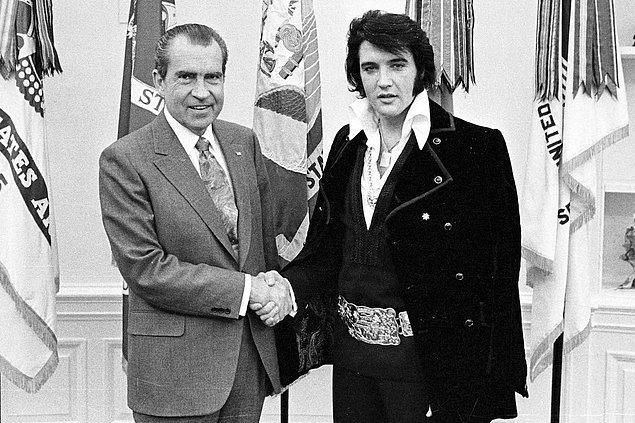 2. Elvis Presley & Richard Nixon