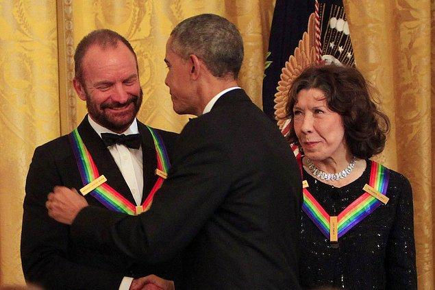 12. Sting & Barack Obama