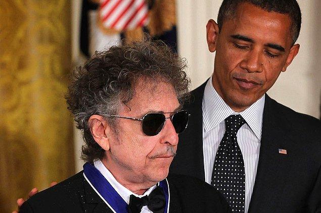 14. Bob Dylan & Barack Obama