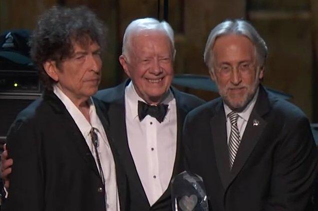 17. Bob Dylan & Jimmy Carter