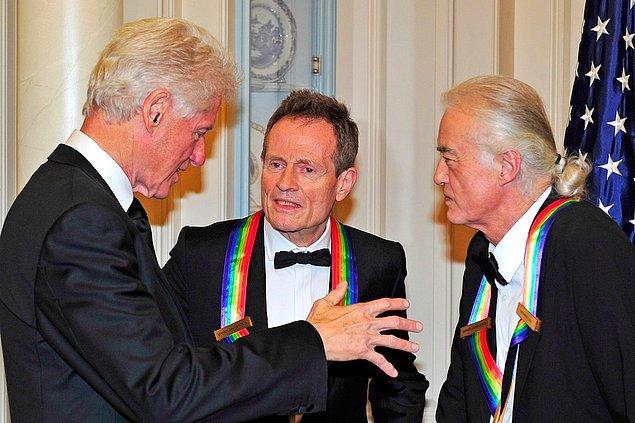 18. Led Zeppelin & Bill Clinton