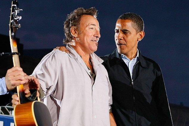 20. Bruce Springsteen & Barack Obama