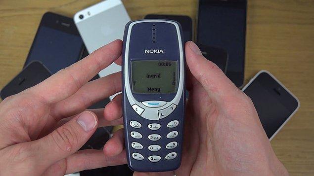3310 ile internete giremeyen Dave onunla alakalı olarak da şunları söylemiş: