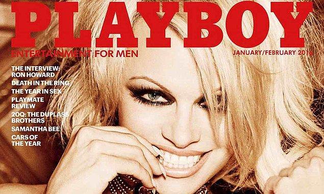Playboy ilk kez Ocak/Şubat 2016 sayısında çıplaklığı ortadan kaldırmış ve kapakta Pamela Anderson'a yer vermişti.
