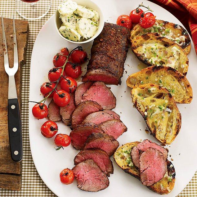 1. Etin en güzel yeriyle, bonfile ile başlayalım.