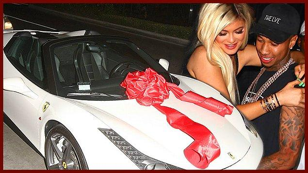 18. doğum gününde hediye olarak aldığı Ferrari'nin kiralık çıkması.