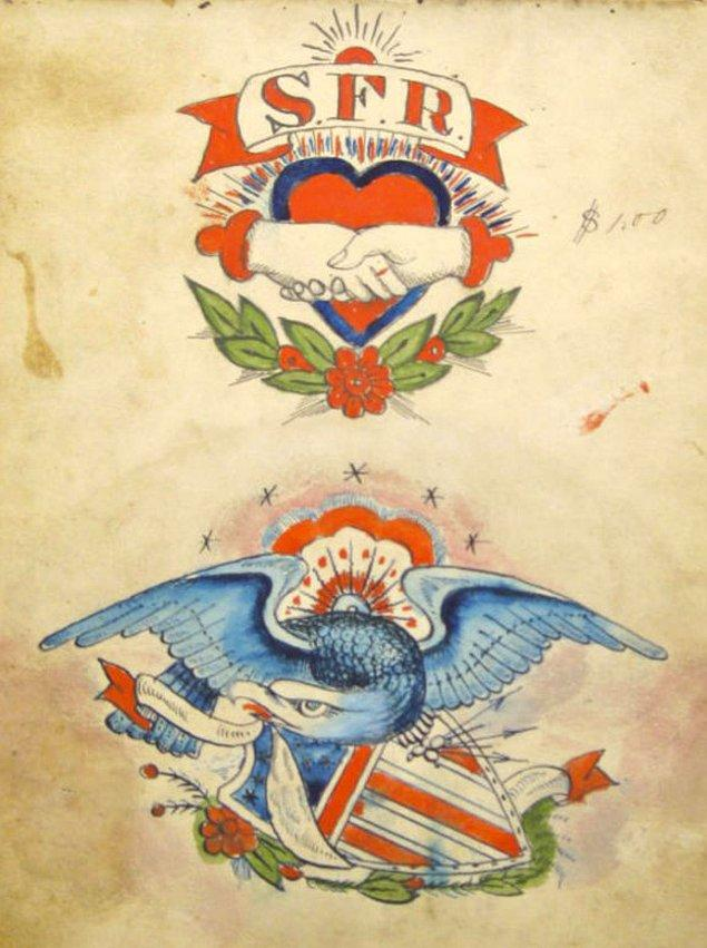 Eski ABD başkanı Theodore Roosevelt, dövme yaptırdığı kesin olarak bilinen tek ABD başkanıdır.