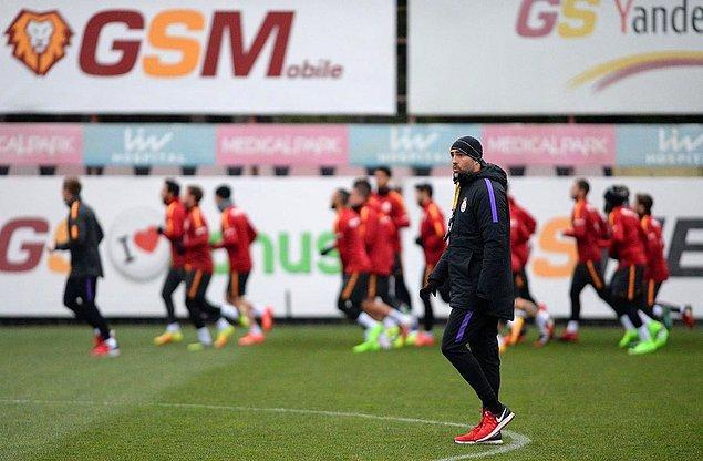 Igor Tudor, Galatasaray'da ilk antrenmanına çıktı;