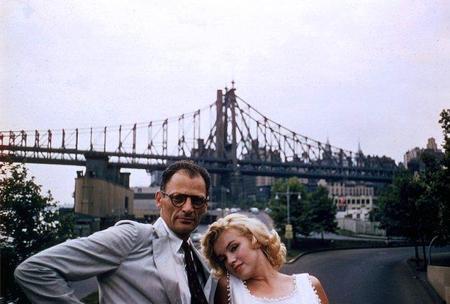 Kariyerinde yardımcı olabilmek için Monroe'ya 'The Misfits'de büyük bir rol yazdı. Bu film hem Marilyn'in hem de başrol arkadaşı Clark Gable'ın son filmi oldu.