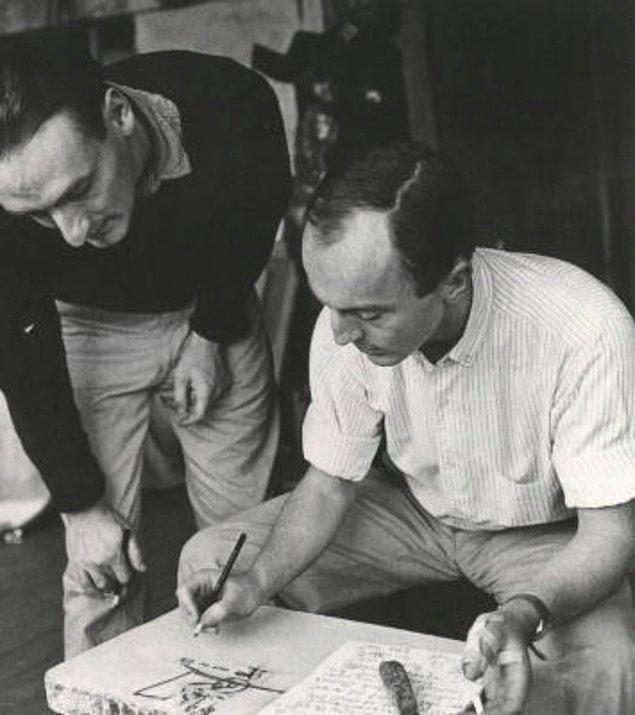 6. Frank O'Hara ve Larry Rivers