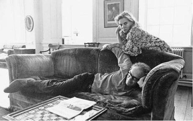 8. Robert Lowell ve Caroline Blackwood