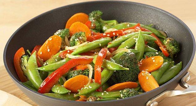 10. Sebzelerinizi nasıl istersiniz? Çin usulü?