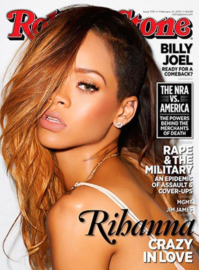 9. Bu ateşli fotoğraf da 2013 yılında Rolling Stones dergisinin kapağında yer almıştı.