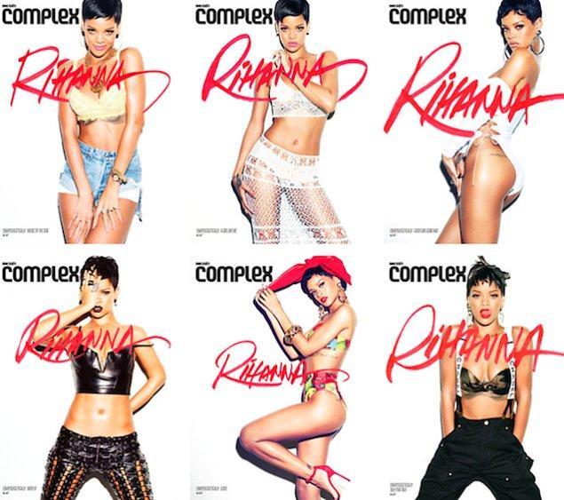 10. Şimdiye kadar yayınladığı bütün albümleri temsilen Complex Magazine dergisine verdiği pozlardan karma bir kapak fotoğrafı...