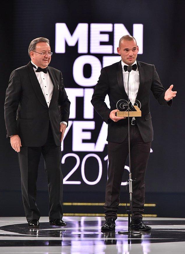 En Başarılı Sporcu: Wesley Sneijder