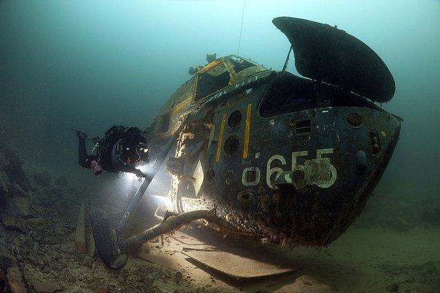 8. İngiliz helikopteri.