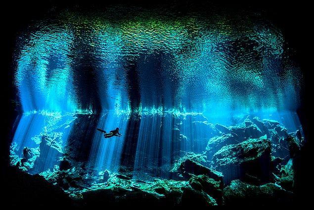 13. Meksika kıyılarından bir görüntü.