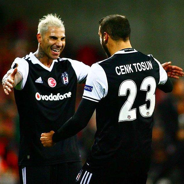 GOL! (60') Cenk Tosun   Hapoel Beer Sheva 1-2 Beşiktaş