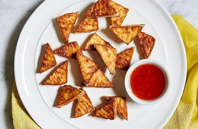 1. Tofu Cips Tarifi