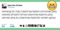 Mizahşör Diliyle Twitter'ı En Çok Güldürenlerden Kaan the Chinese'in En Komik 21 Tweeti