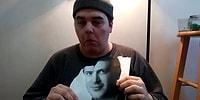 Fotoğrafını Jason Segel'e Yedirmek İçin Her Gün Jason'ın Fotoğrafını Yiyen Adam 7. Gününde